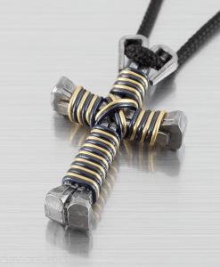 custom-twist-cross-necklace