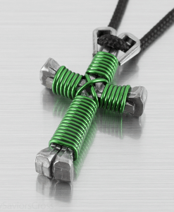 green-cross-necklace