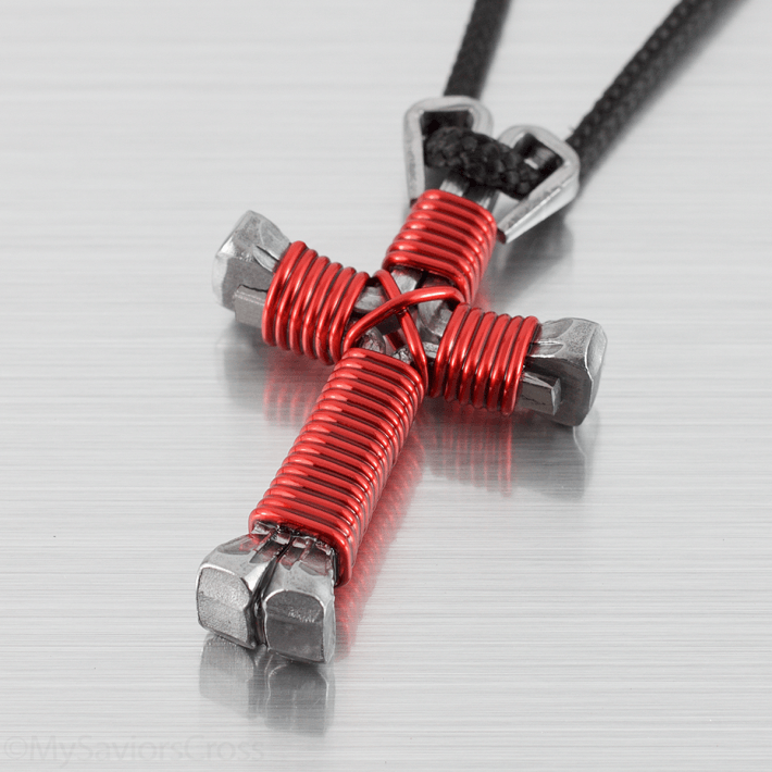 cross-necklace-red